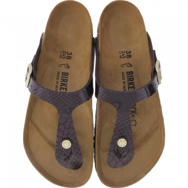 Birkenstock / Modell: Gizeh / Magic Snake Brown / Weite: Normal / Art: 1011772