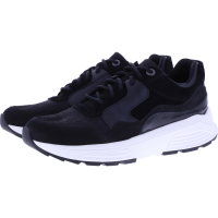 Xsensible Stretchwalker / Modell: Golden Gate / Black / Leder / Art: 330002-001 / Damen Sneakers