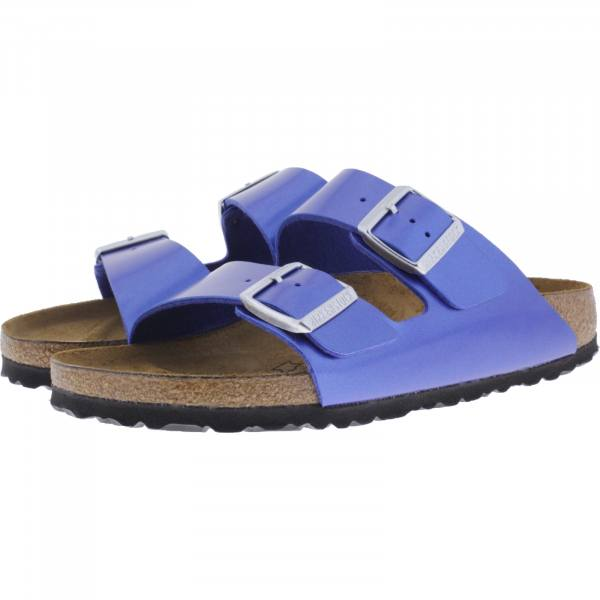 Birkenstock / Modell: Arizona / Electric Metallic Ocean / Weite: Schmal / Art: 1012970 / Damen