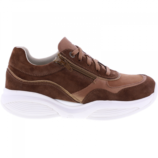 Xsensible Stretchwalker / Modell: SWX11 / Caramel Combi Leder / Art: 300852-475 / Damen Sneakers