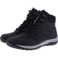 Hartjes / Modell: Walker Boot / Schwarz Leder / Weite: H / 1721202-0101 / Damen Stiefeletten