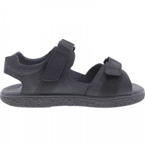Jacoform / Modell: 379 / Schwarz Nubukleder / Unisex Sandale