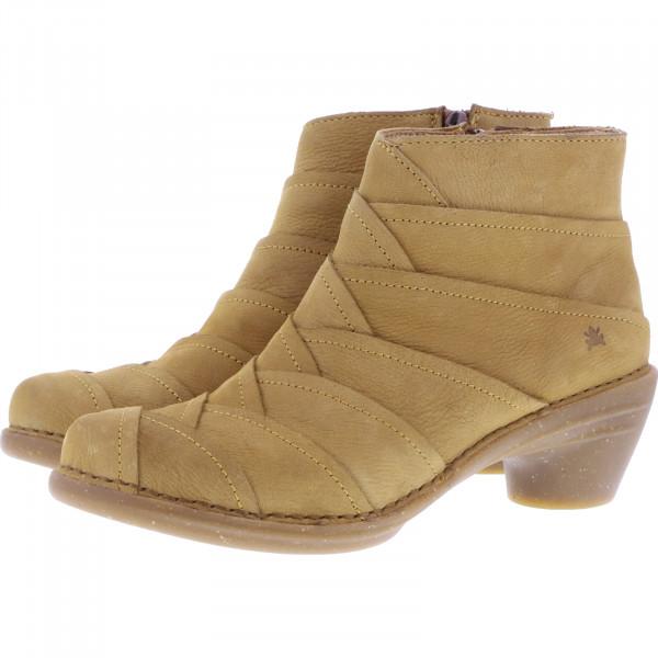 El Naturalista / Modell: N5337 Aqua / Farbe: Pleasent Camel Gelb / Damen Stiefeletten