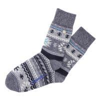 Birkenstock Herren Socken - Cotton Kelim - Hellgrau-Melange