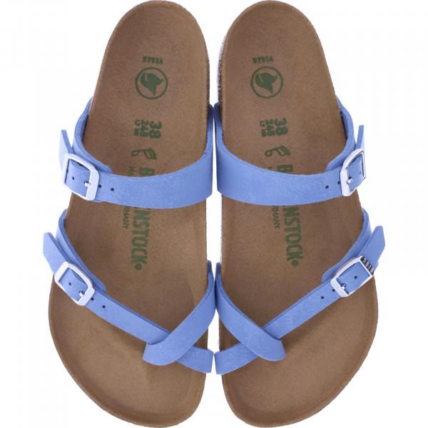 Birkenstock Vegan / Modell: Mayari / Dove Blue Birko-Flor / Weite: Normal / Art: 1016404 / Damen