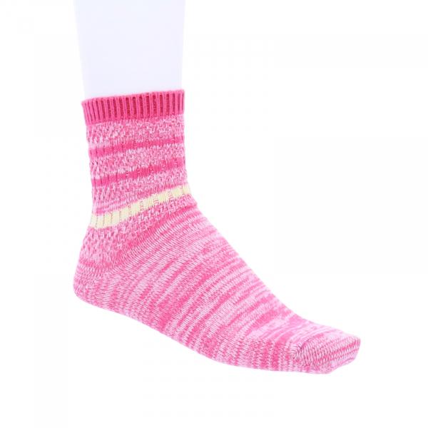 Birkenstock Damen Socken - Cotton Twist Ajour - Raspberry