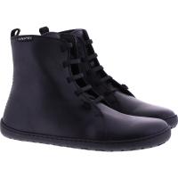 Snipe / Modell: Barefoot / Negro Schwarz Glattleder / Lederfutter / Art: 05285-013 / Damen Stiefelet 37 EU