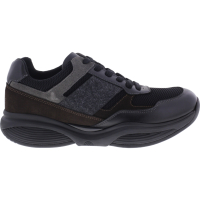 Xsensible Stretchwalker / Modell: SWX10 / Black-Brown / Leder / Art: 300621-020 / Herren Sneakers
