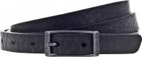 Birkenstock Gürtel / Modell: Ohio / Breite: 20mm / Schwarz Leder / Unisex One-Size