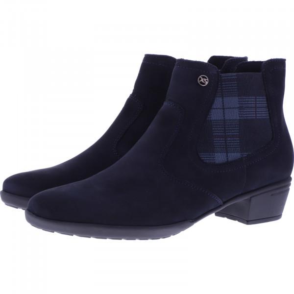 Hartjes / Modell: XS City Boot / Dunkelblau Leder / Weite: H / 13072-4700 / Damen Stiefeletten