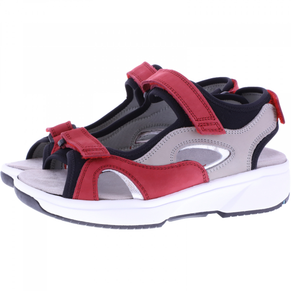 Xsensible Stretchwalker / Modell: Sumatra / Red-Offwhite / Leder / Art: 305101-765 / Damen Sandalen