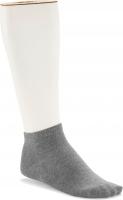 Birkenstock Herren Sneaker Socken - Cotton Sole Sneaker 2-Pack - Grau Melange 39-41 EU