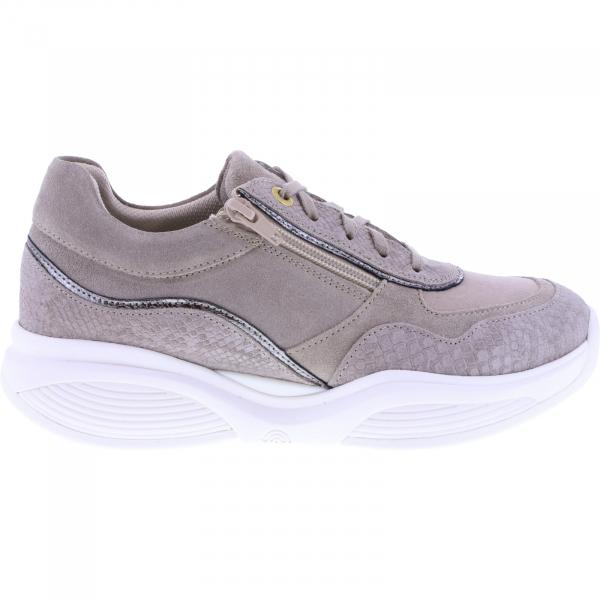 Xsensible Stretchwalker / Modell: SWX11 / Beige Leder / Art: 300852-401 / Damen Sneakers