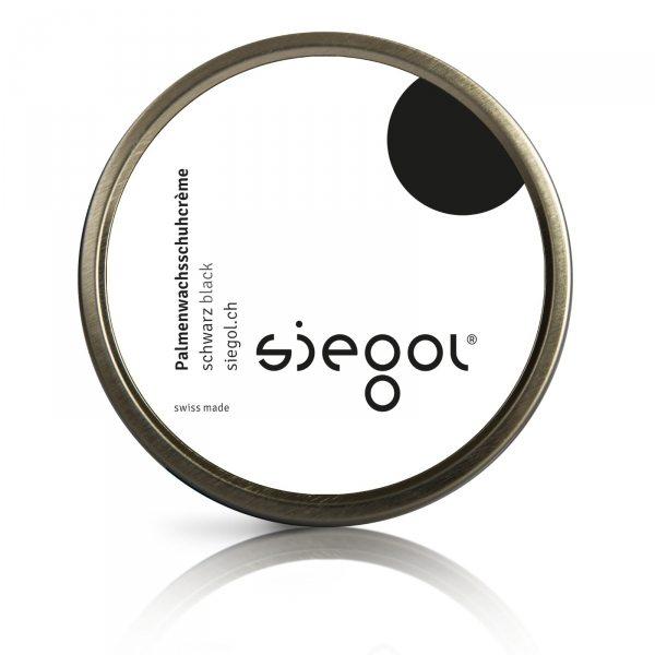 Siegol - Schuhpflege aus Schweizer Manufaktur / Siegol Palmenwachsschuhcrème / 100ml Dose