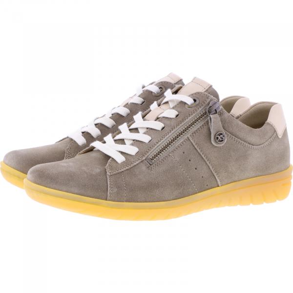 Hartjes / Modell: XS Casual / Schilf/Sahara Leder / Weite: G / 88162-6608 / Damen Sneakers