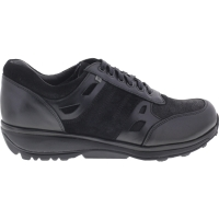 Xsensible Stretchwalker / Modell: New York Men / Schwarz / Leder / Art: 300322-002 / Herren Sneakers