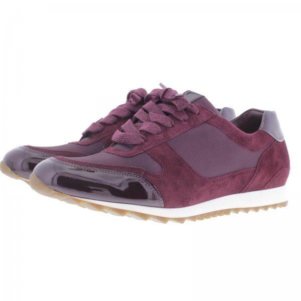 Hassia / Barcelona / Vino / Weite: H / Tecnolux & Lackleder / Art: 2-301923-4200 / Damen Sneaker