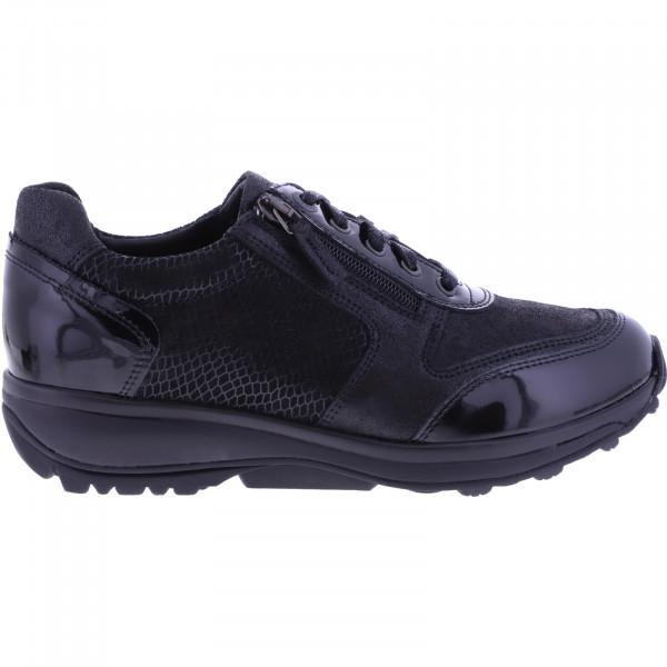 Xsensible Stretchwalker / Modell: Wembley / Schwarz Lack / Art: 301032-007 / Damen Sneakers