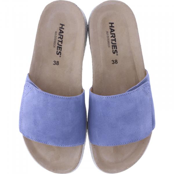 Hartjes / Modell: Move / Aqua Nubukleder / Weite: G / 120122-4200 / Damen Pantoletten