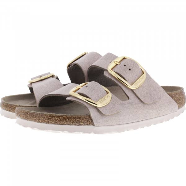 Birkenstock / Modell: Arizona Big Buckle / Washed Metallic Rose Gold / Weite: Schmal / Art: 1012882