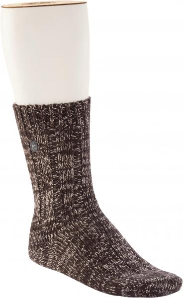 Birkenstock Herren Socken - Cotton Twist - Dunkelbraun Meliert