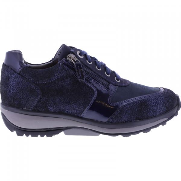 Xsensible Stretchwalker / Modell: Wembley / Dark Blue Metal / Art: 301032-285 / Damen Sneakers
