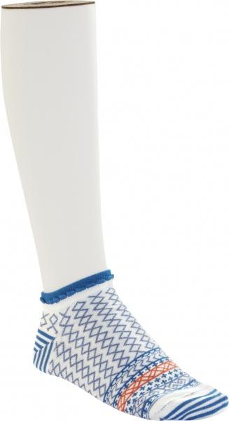 Birkenstock Damen Sneaker Socken - Cotton Ethno Summer Sneaker - Light Blue
