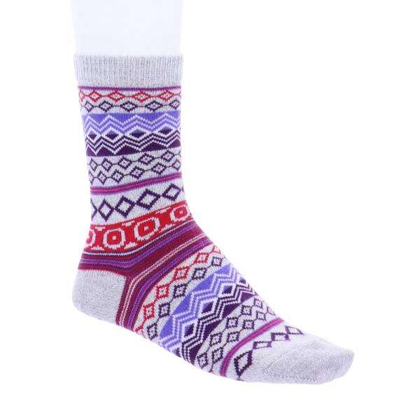 Birkenstock Damen Socken - Cotton Jacquard - Light Gray