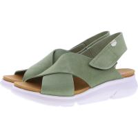 OnFoot / Modell: Bora / Farbe: Verde Grün Leder / Art.: 90004 / Damen Sandalen
