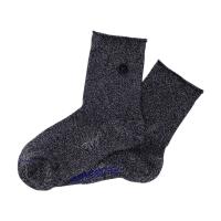 Birkenstock Damen Socken - Cotton Sole Bling - Anthrazit
