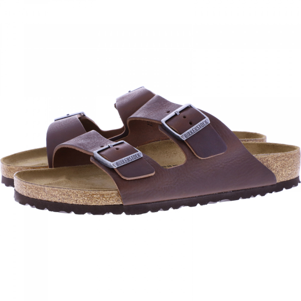 Birkenstock / Modell: Arizona / Vintage Wood Roast Leder / Weite: Normal / Art: 1018626 / Herren