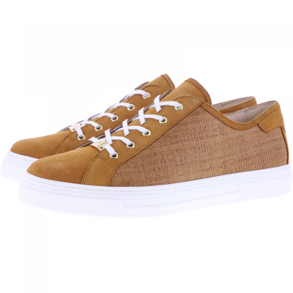 Hassia / Bilbao / Hazel/Nut Braun Leder / Wechselfußbett / Art: 1-301243-2924 / Damen Sneakers