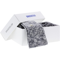 Birkenstock Herren Socken X-Mas Box Slub - Cotton Socken 2-Pack - Grau-Schwarz-Copy