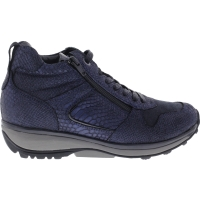 Xsensible / Modell: Filly / Navy Metal / Leder / Art: 300262-253 / Damen Stiefelette