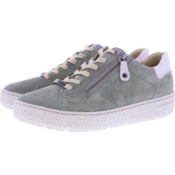 Hartjes / Modell: Phil / Khaki-Taupe Leder / Weite: H / 141762-7031 / Damen Sneakers