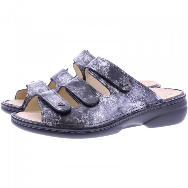Finn Comfort / Menorca-Soft / Grey Reflex / Wechselfußbett / Art: 82564-695218 / Damen PantolettenFinn Comfort / Menorca-Soft / Grey Reflex / Wechselfußbett / Art: 82564-695218 / Damen Pantoletten