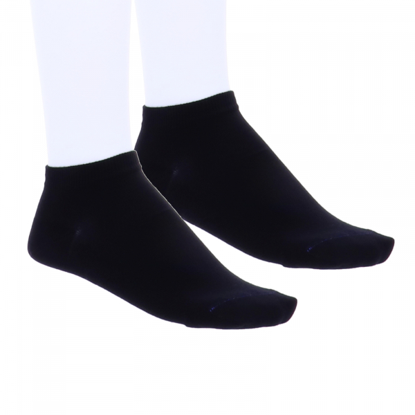 Birkenstock Damen Sneaker Socken - Cotton Sole Sneaker 2-Pack - Schwarz