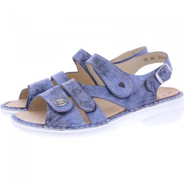 Finn Comfort / Gomera / Jeans Blau / Wechselfußbett / Art: 02562-672124 / Damen Sandalen