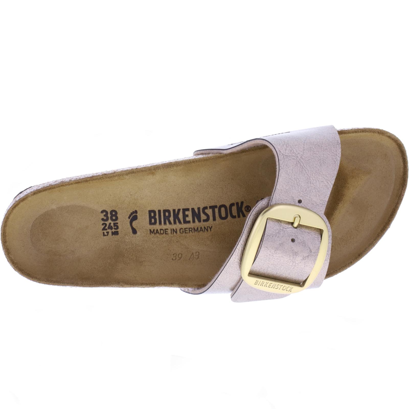 Birkenstock Modell: Madrid Big Buckle Graceful Taupe Weite: Schmal Art: 1016237 Sandalen