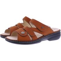 Finn Comfort / Ventura-Soft / Mandarine Leder  / Wechselfußbett / Art: 82568-390246 / Damen Pantoletten