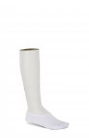 Birkenstock Damen Socken - Cotton Sole Invisible - Weiß 36-38 EU