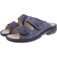 Finn Comfort / Sansibar / Lipsia-Blue / Wechselfußbett / Art: 2550-622241/ Damen Pantoletten