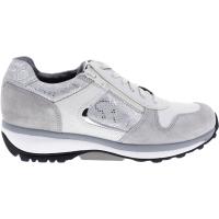 Xsensible Stretchwalker / Modell: Jersey / Grey-Silver / Leder / Art: 300423-845 / Damen Sneakers
