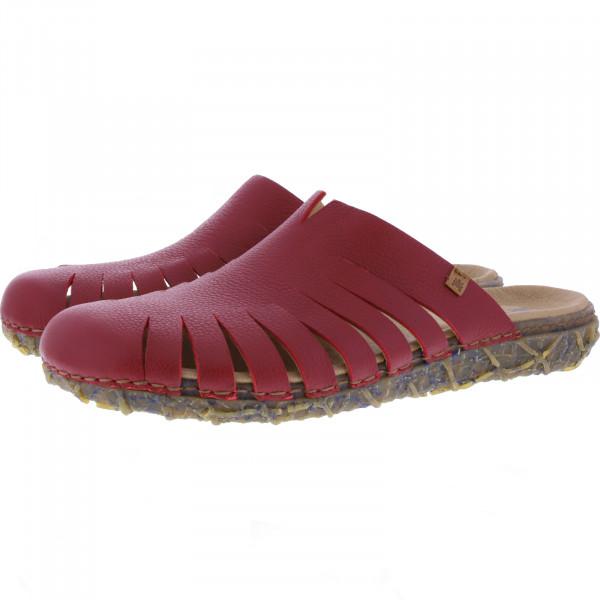 El Naturalista / Modell: N5504 Redes / Farbe: Soft Grain Tibet Rot / Damen Clogs