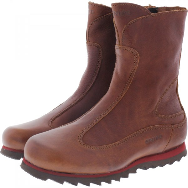 Snipe / Modell: Rippel Sport Stiefel / Cuero-Braun / Leder / Art: 42760-003 / Damen Stiefel