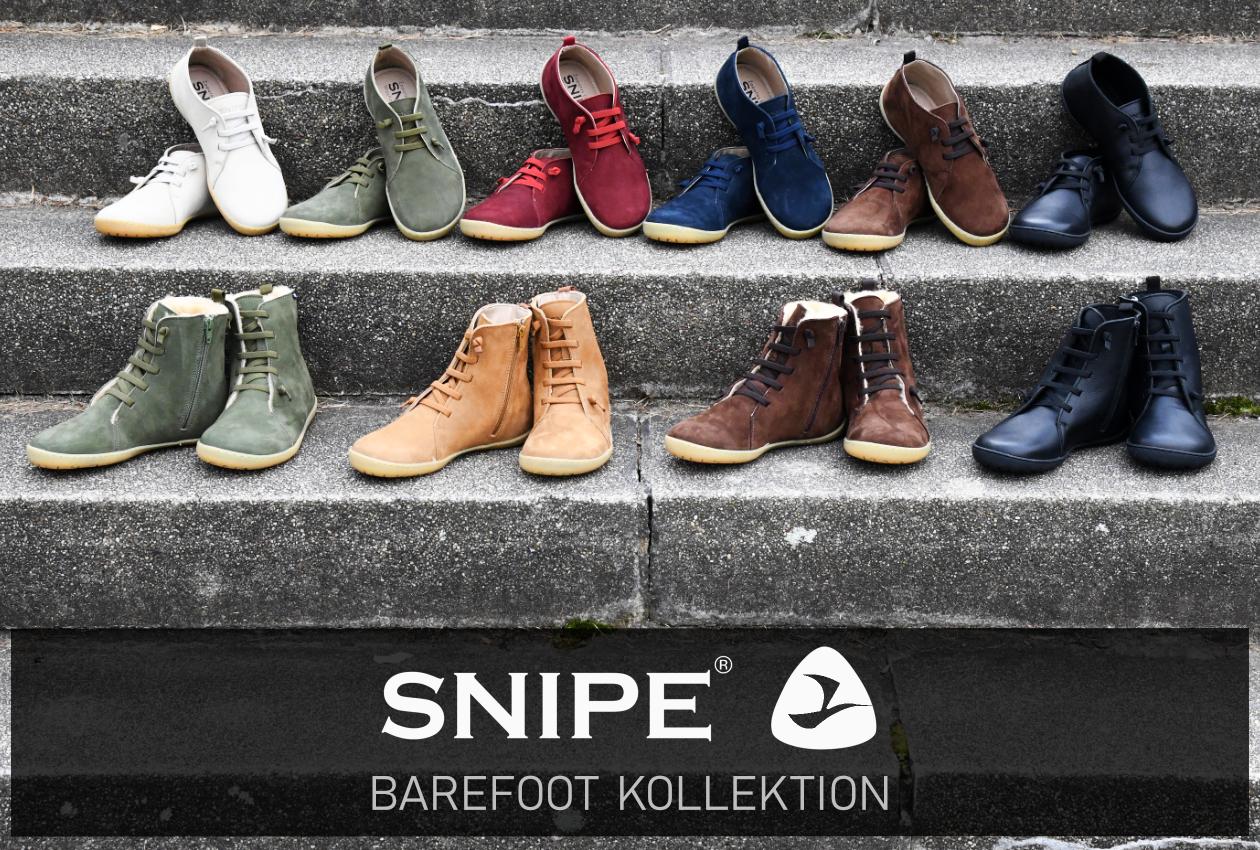 Snipe Barefoot Kollektion - Snipe Barfuß Schuhe