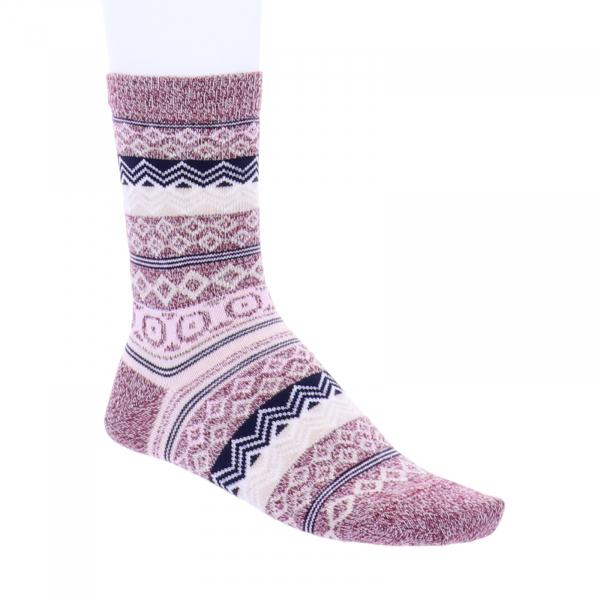 Birkenstock Damen Socken - Cotton Jacquard - Tawny Port