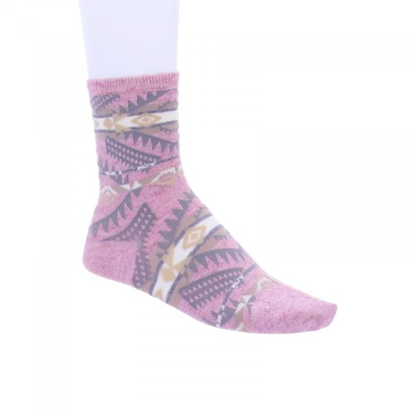 Birkenstock Damen Socken - Summer Linen Ethno - Soft Pink/Rosa