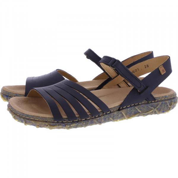 El Naturalista / Modell: N5501 Redes / Farbe: Soft Grain Black Leder / Damen Sandalen