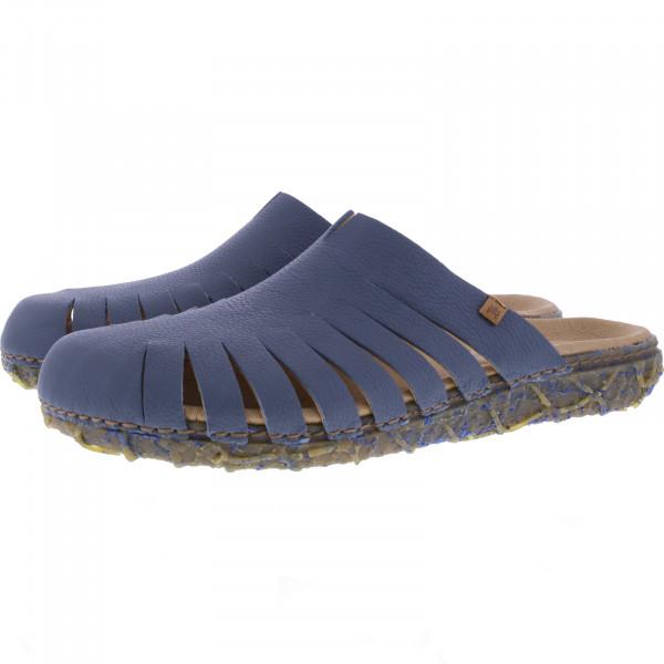 El Naturalista / Modell: N5504 Redes / Farbe: Soft Grain Vaquero Blau / Damen Clogs